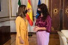 2021_09_23 Firma de convenio de colaboración con del Ministerio de Derechos Sociales y Agenda 2030.
