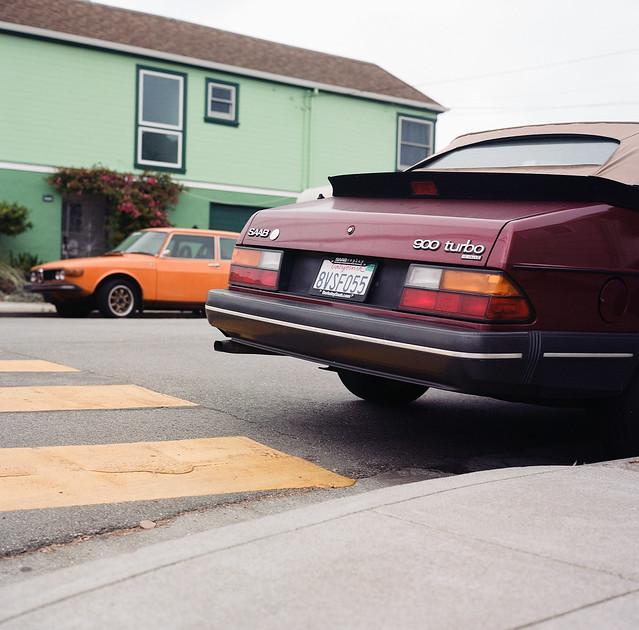 Sunset Saab Story