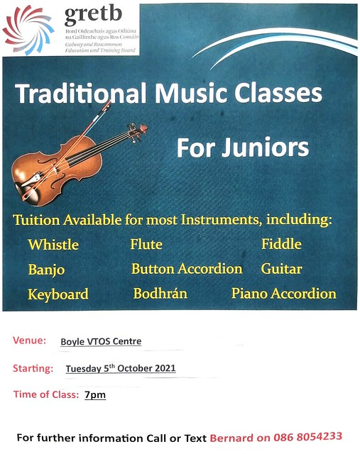 Traditional Music Classes for Juniors