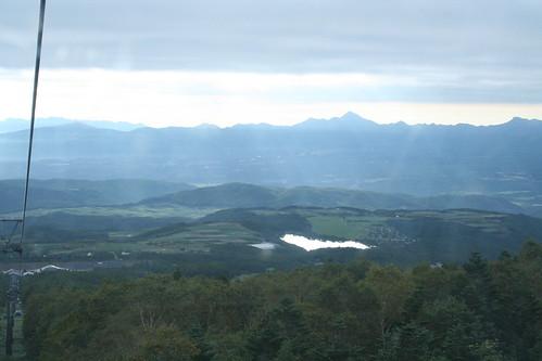 パルキャビンから望むバラギ湖