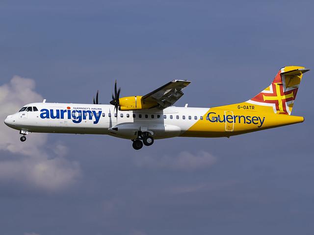 Aurigny Air Services | ATR 72-600 | G-OATR