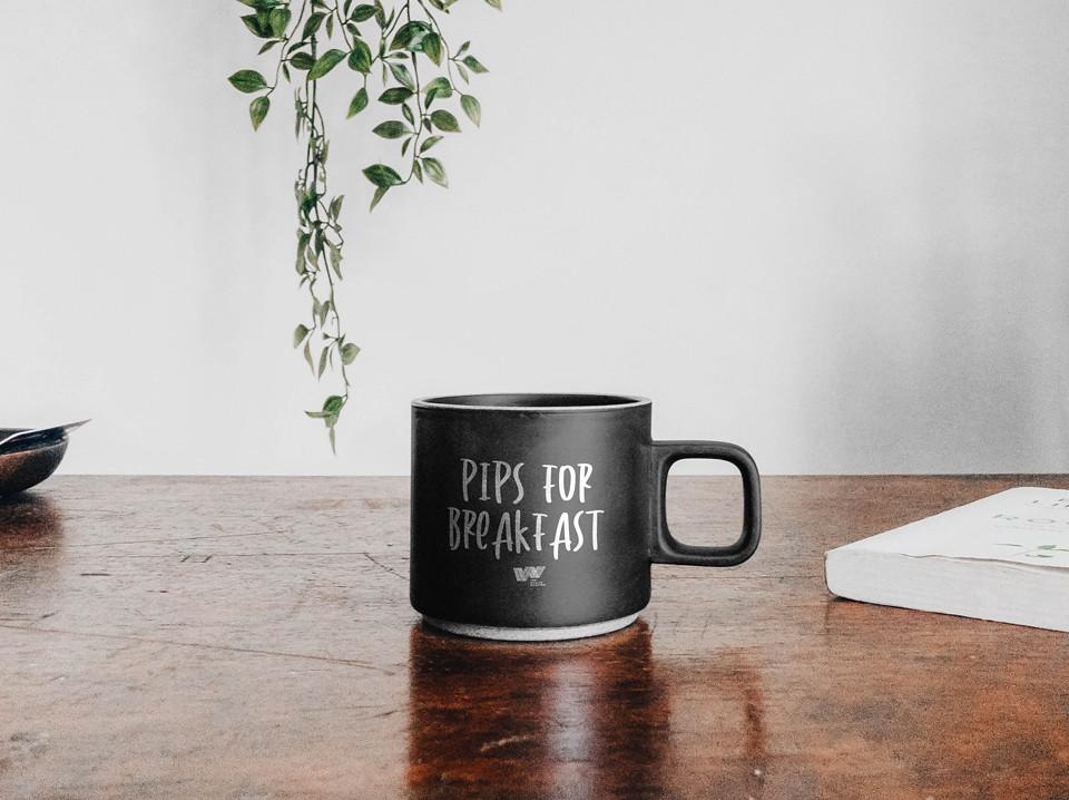 Pips For Breakfast Coffee Mug