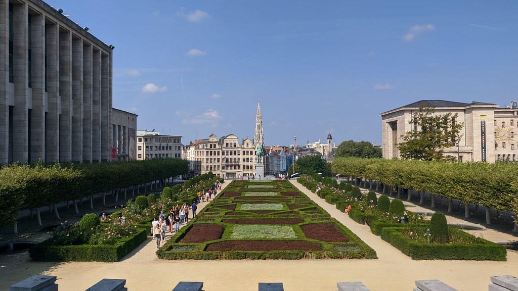 Mont des Arts - Bruselas