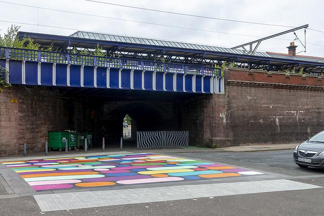New Pedestrian Crossing, Station Road, Dumbarton