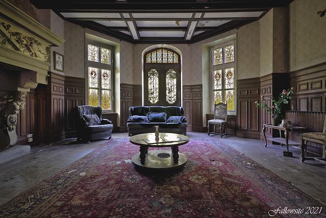 Le salon de l'émir Abel Koutcher.