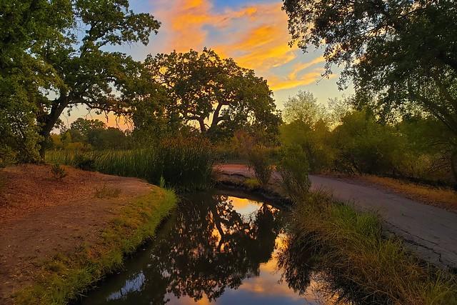 Sunrise Cloud Reflections...