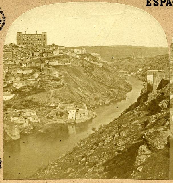 Vista general de Toledo en 1857 por Eugène Sevaistre. Archivo Municipal, Ayuntamiento de Toledo (Colección Luis Alba)