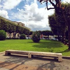 :sunrise_over_mountains: #Buongiorno Sapienza con una foto dei giardini della Città universitaria di @zapata2014 [Studiare alla Sapienza? :arrow_right: orientamento.uniroma1.it] ・・・  Goodmorning from the main City Campus ・・・ #Repost: «#sapienza #rome #rom