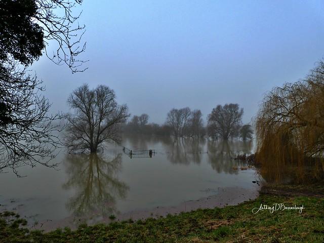 Receding Flood Waters - Holywell 084aa-1