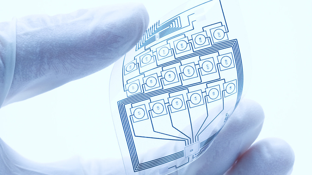 Flexible electronic component