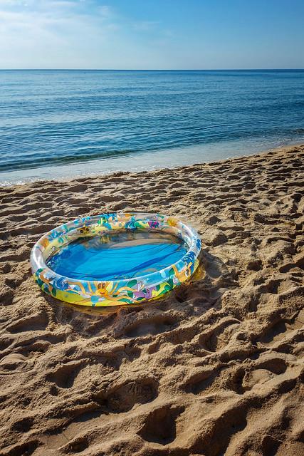 La mia piscina...
