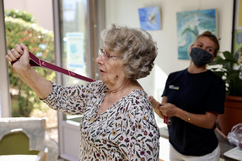 Nos aînées ont la santé avec du sport adapté