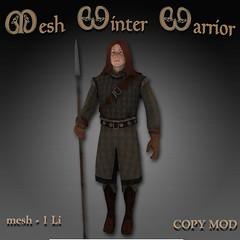 Mesh Winter Warrior