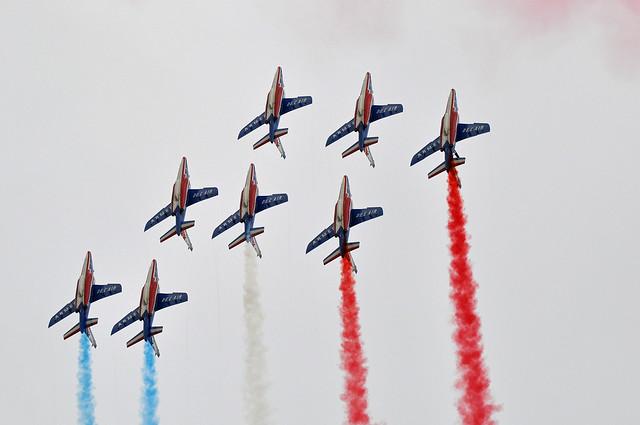 PATROUILLE DE FRANCE PARIS AIR LEGEND 2021