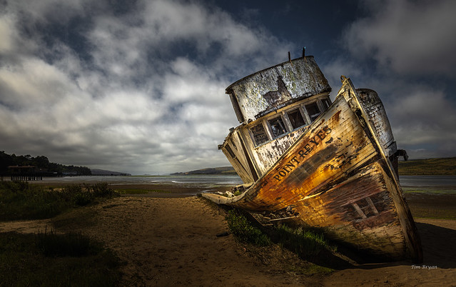 Wreck of the Point Reyes, Version 2