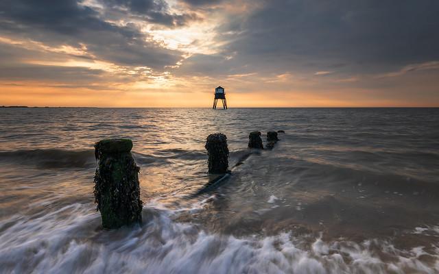 Dovercourt Lighthouse at Sunrise