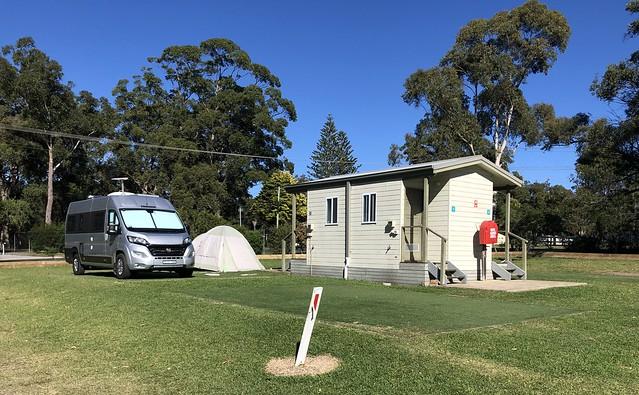 Camp site of T&M vanlife  Trakka