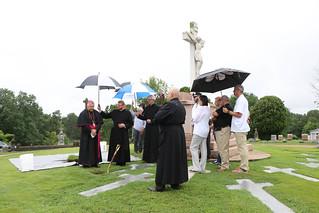 2021 Fr. Patrick Ryan Exhumation and Transfer to Basilica