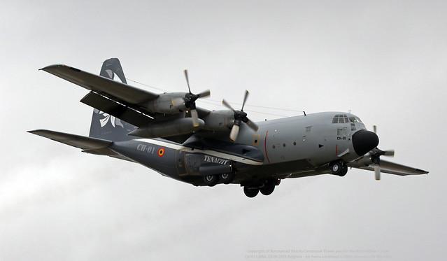 CH-01 LMML 23-09-2021 Belgium - Air Force Lockheed C-130H Hercules CN 382-4455