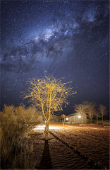 Milky way south hemisphere