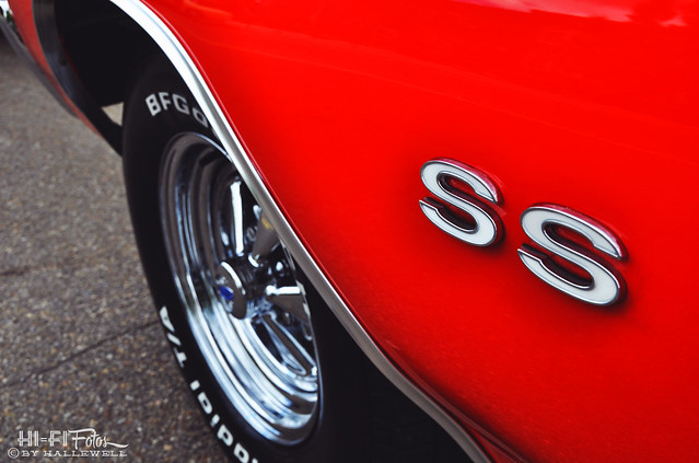 71 Chevelle SS with Cragar SS wheels.