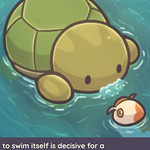 Moca Soup 🍲 To swim is a decisive choice