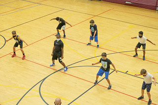 YBL Basketball Practice