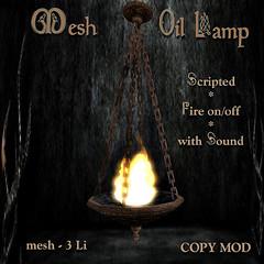 Mesh Oil Lamp