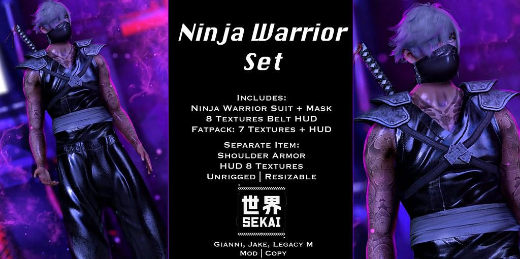+SEKAI+ Ninja Warrior Set – NEO JAPAN