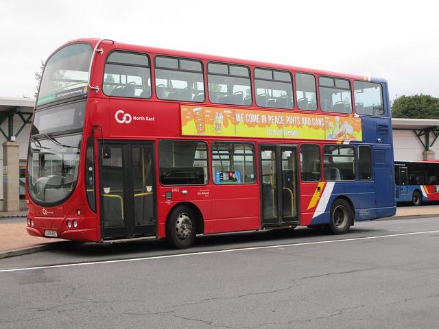 Go North East 6903. Gateshead Interchange