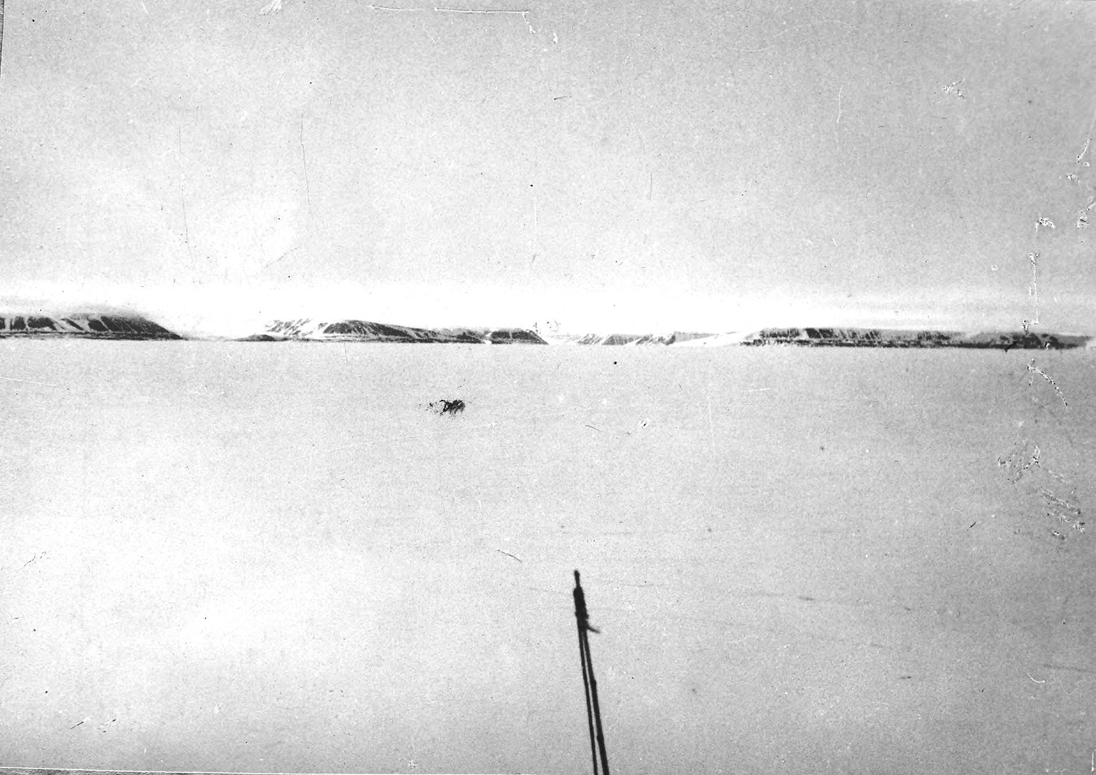 Берега Северной Земли с борта ледокольного парохода «Русанов»