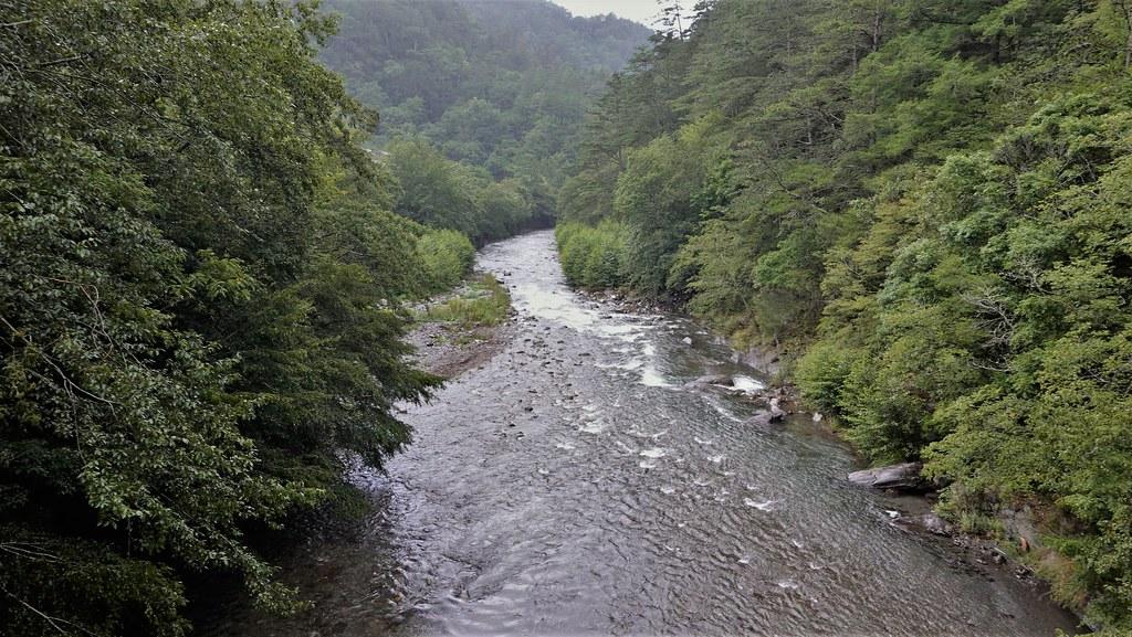 大甲溪上游的溪流是櫻花鉤吻鮭的重要棲息環境。孫文臨攝