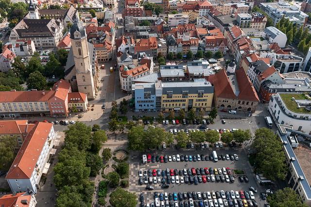 Jena von oben ... [Thüringen]