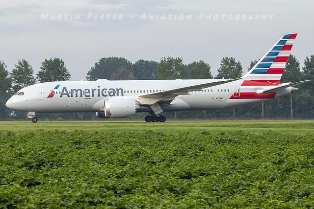 N871AY // American Airlines // Boeing 787-8