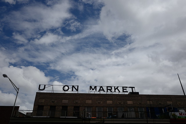 Union Market sign
