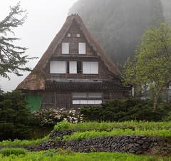 Rain in Ainokura