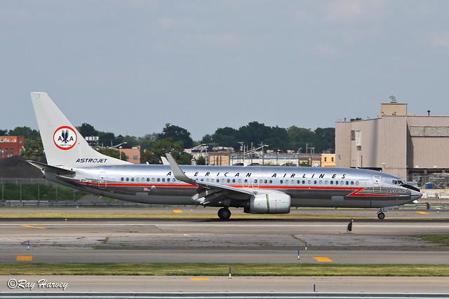 N905NN Astrojet landing JFK