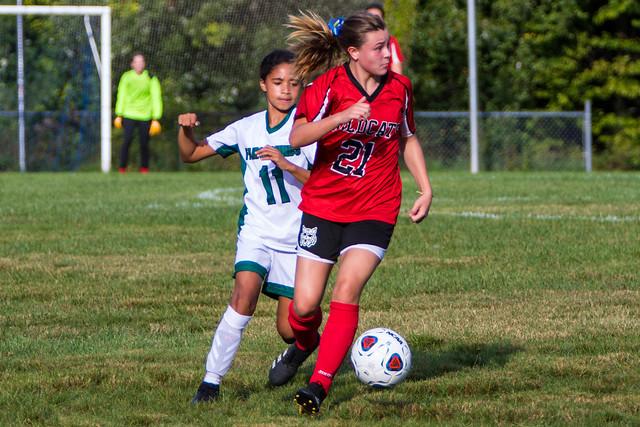 BMS Girls Soccer - September 23, 2021