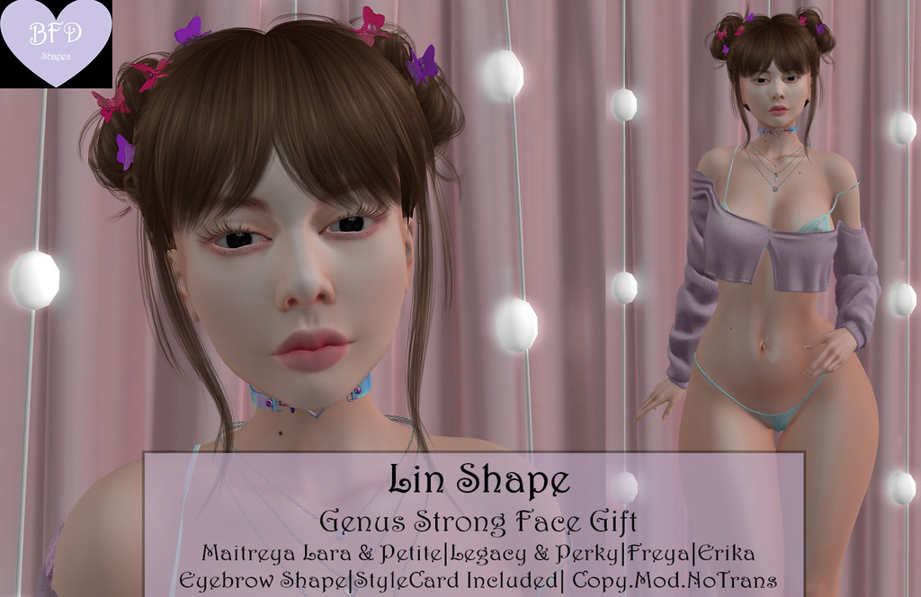 {BFD} Shapes – Lin Shape – Genus Strong Face Gift FL