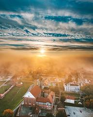 Autumn fog | Kaunas aerial #266/365