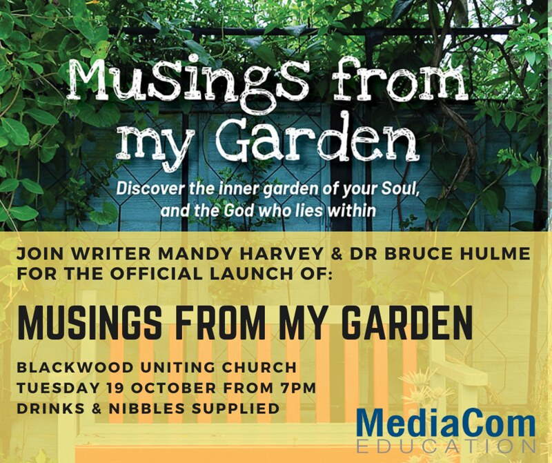 Book Launch - Musings from my Garden
