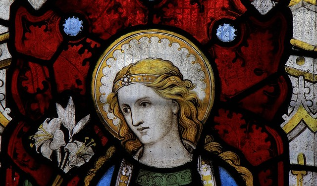 Stained Glass - St Mary The Virgin Church 240821  (17)