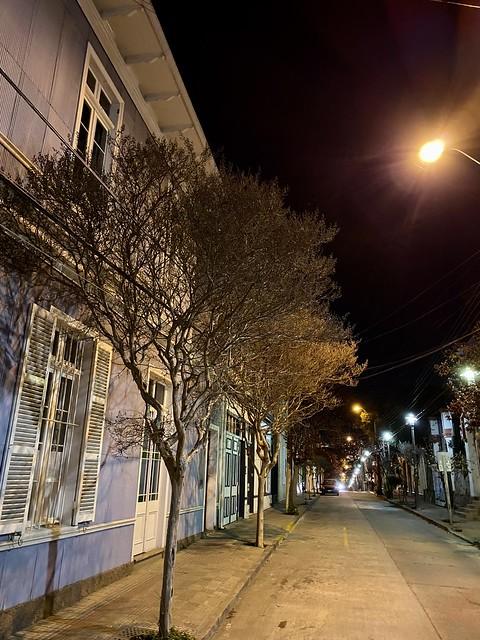 Noche en el Cerro Alegre, Valparaíso