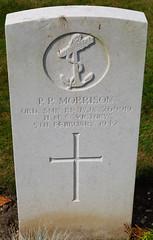 P/JX 269919 Ordinary Seaman Peter Patrick Morrison