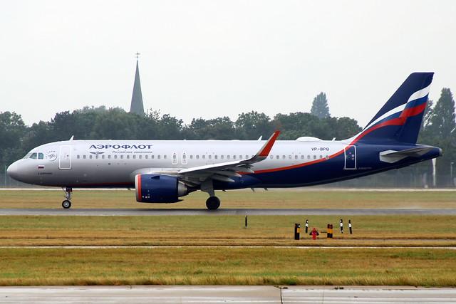 VP-BPQ A320 10126 LHR 14-Sep-21