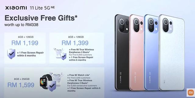 Xiaomi 11 Lite 5G Dilancarkan Untuk Pasaran Malaysia