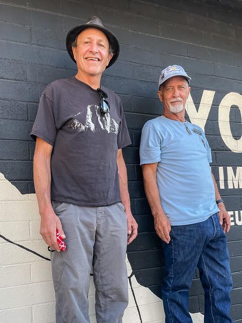 Legendary El Capitan Climbers Ken Yager and Mike Corbett