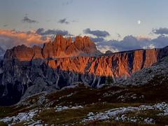 Croda da lago range-Dolomites
