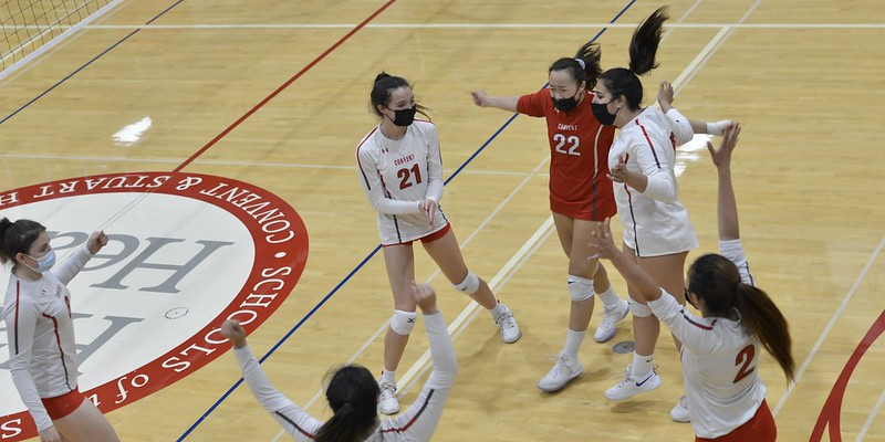 Convent High School Homecoming Volleyball vs. Lick-Wilmerding, Sept. 17, 2021