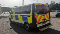 Brtish Transport Police Vauxhall Vivaro LJ18 FMX